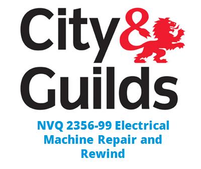 NVQ 2356-99 Electrical Machine Repair and Rewind